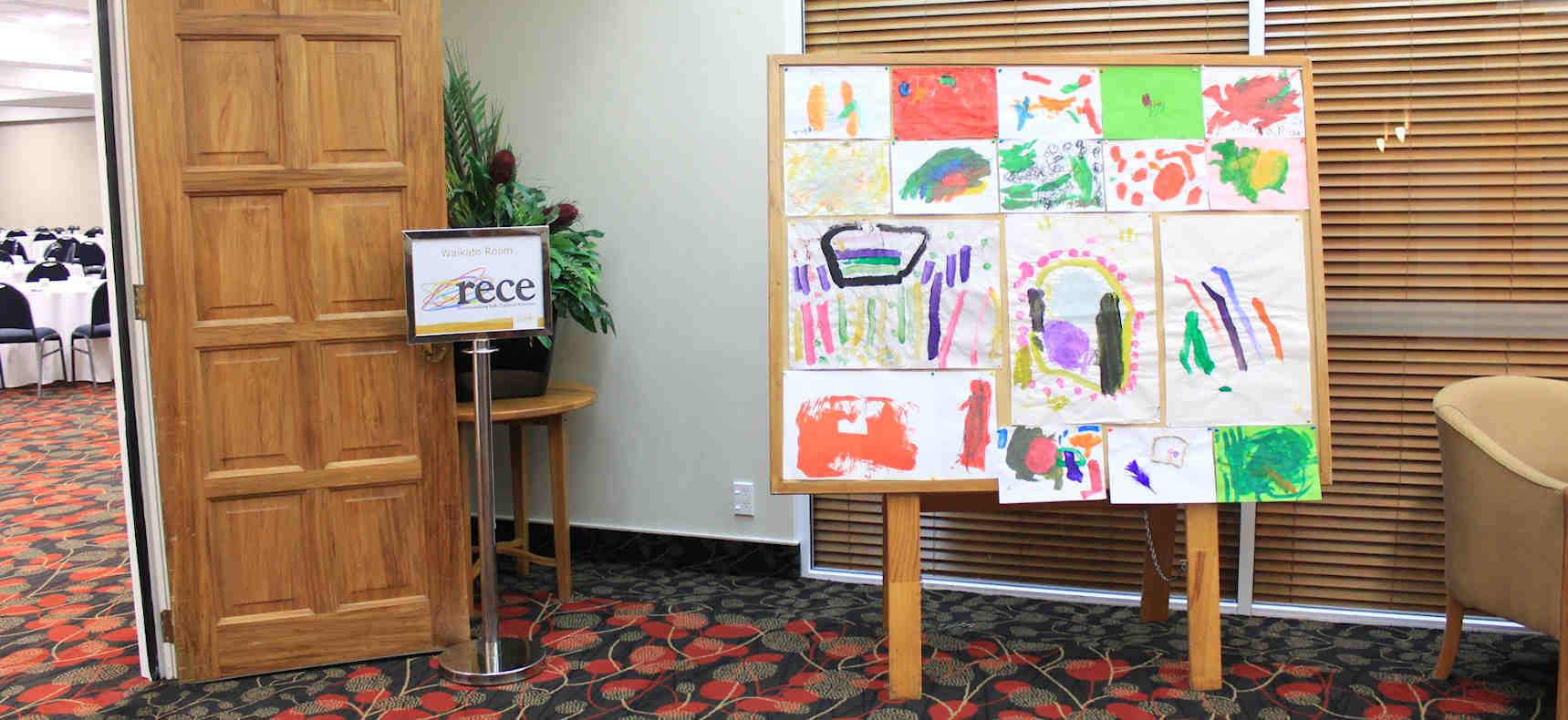 RECE conference children's artwork