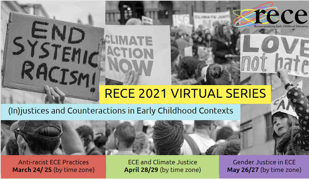 RECE virtual series save the date